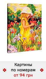 Картины по номерам от 94 грн